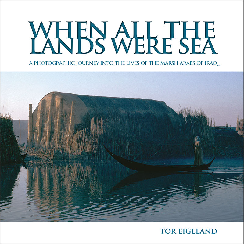 All the lands were sea by Tor Eigeland