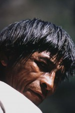 Tarahumara Indian chief, Chihuahua, Mexico. Powerful local leader. W3379