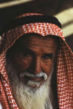 Elderly Bedouin of the Al-Murrah tribe. Kind and helpful by nature . W8257